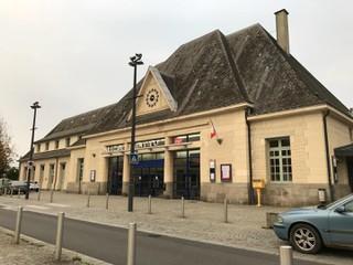 Foto vom 17. Oktober 2017 07:27, Gare De Saint-Lo, Place de la Gare, 50000 Saint-Lô, France