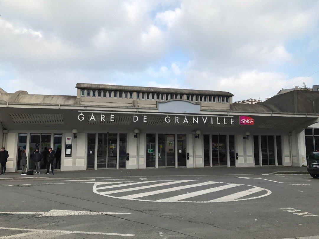 Foto vom 10. Februar 2017 15:44, Gare de Granville, France