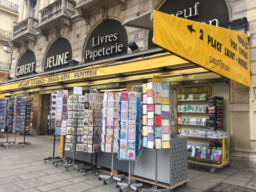 Foto del 11 de octubre de 2017 9:02, Gibert Joseph Paris Librairie, 26 Boulevard Saint-Michel, 75006 Paris, Francia