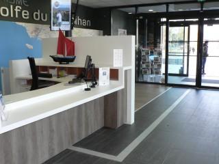Photo du 16 janvier 2018 16:26, Golfe du Morbihan Vannes Tourisme - Bureau de Vannes, Quai Eric Tabarly, 56000 Vannes, Francia