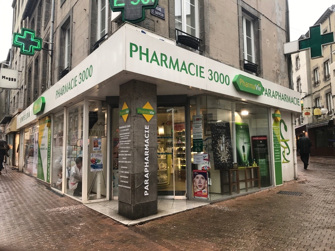 Foto vom 1. März 2017 10:11, Grande Pharmacie 3000, 2 Rue Couraye, 50400 Granville, Frankreich