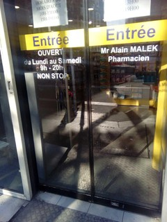 Photo of the February 8, 2018 4:24 PM, Grande Pharmacie, 86 Boulevard de Belleville, 75020 Paris, France