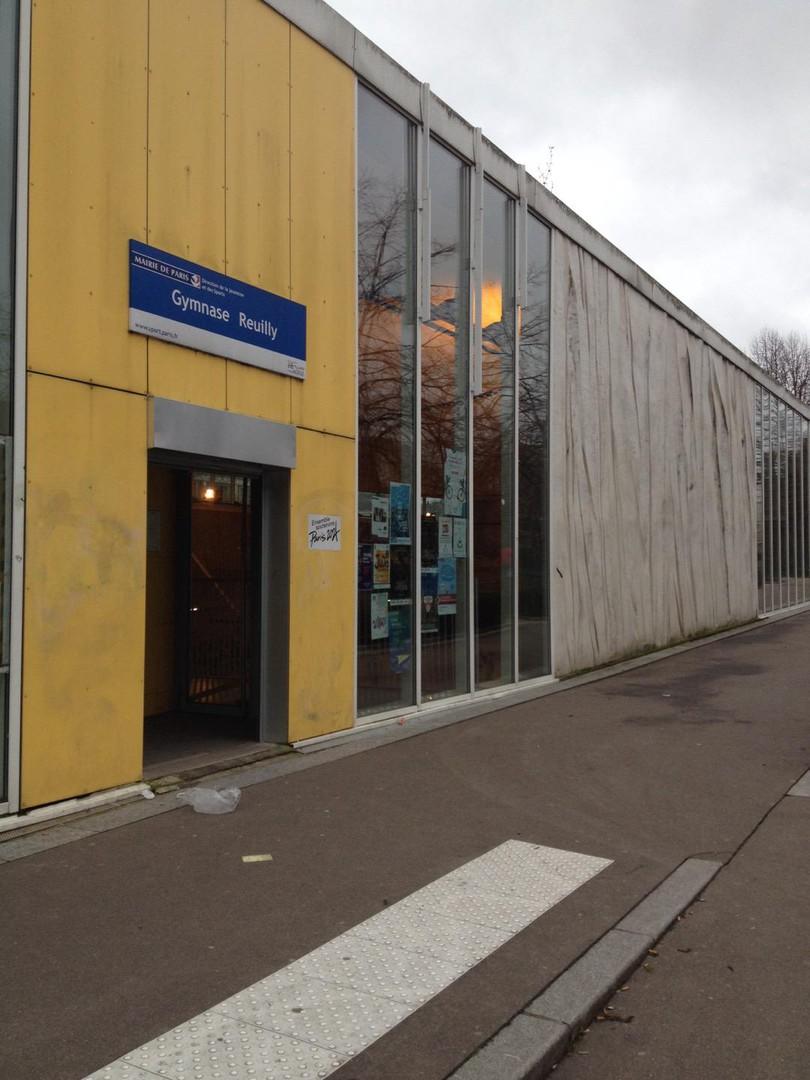 Photo du 29 janvier 2018 13:27, Gymnase Reuilly, 43 Allée Vivaldi, 75012 Paris, France