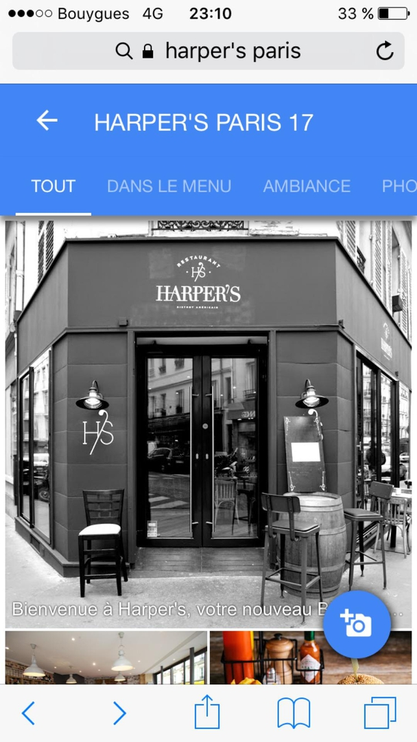 Foto del 13 de mayo de 2017 21:10, HARPER'S PARIS 17, 31 Rue Legendre, 75017 Paris, France