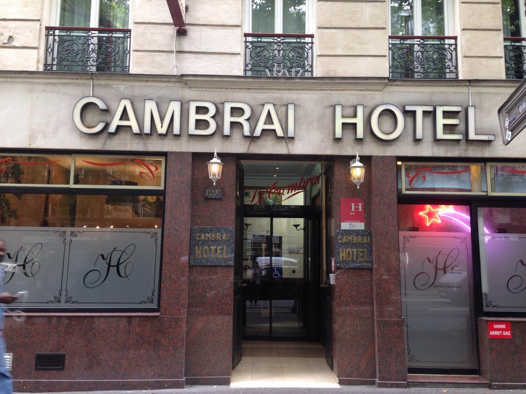 Photo of the June 12, 2018 3:30 PM, HÔTEL CAMBRAI, 129 Bis Boulevard de Magenta, 75010 Paris, France