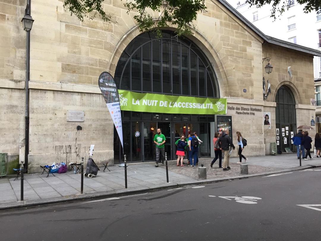 Photo of the July 2, 2017 8:12 PM, Halle des Blancs Manteaux, 48 Rue Vieille du Temple, 75004 Paris, France