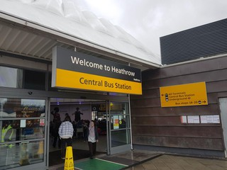 Photo of the November 4, 2017 4:35 PM, Heathrow Central Bus Station (Stand 5), Longford, Hounslow TW6 1JJ, Royaume-Uni