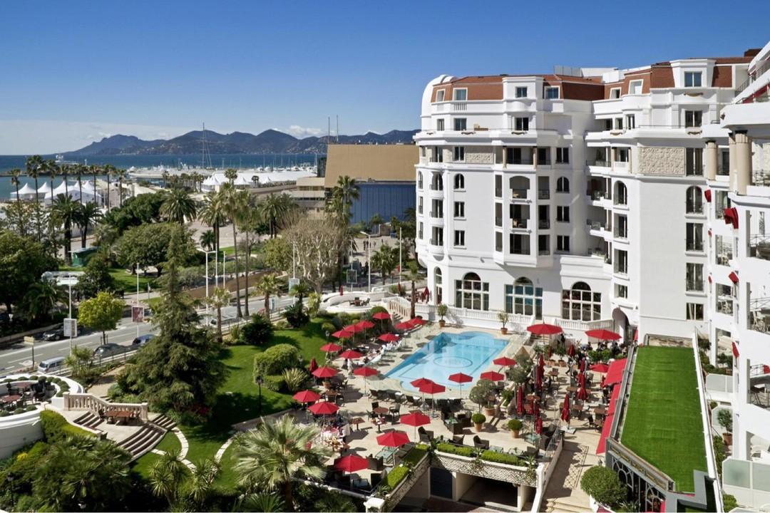 Photo du 31 octobre 2017 19:19, Hôtel Barrière Le Majestic, 10 Boulevard de la Croisette, 06400 Cannes, France