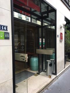 Foto vom 2. November 2017 11:03, Hôtel Garden Elysée, 12 Rue Saint-Didier, 75116 Paris, France