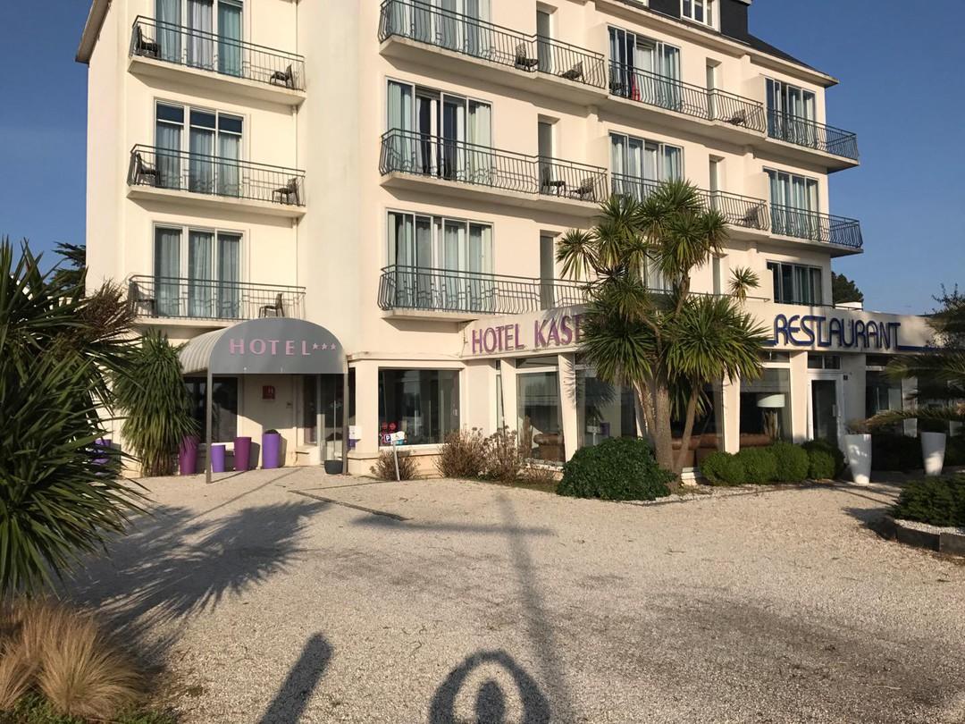 Photo du 21 février 2018 15:49, Hôtel Kastel, 1 Corniche de la Plage, 29950 Bénodet, France