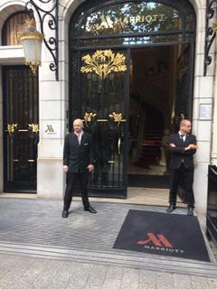 Foto vom 2. September 2017 14:16, Paris Marriott Champs Elysees Hotel, 70 Av. des Champs-Élysées, 75008 Paris, France
