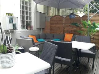 Foto vom 14. August 2017 19:42, Hôtel de France, 55 Rue du Dr Peltier, 17300 Rochefort, Francia