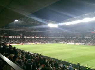 Photo of the May 24, 2016 10:49 PM, Allianz Riviera, Boulevard des Jardiniers, 06200 Nice, France