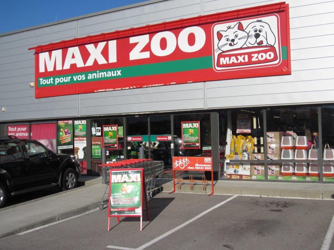 Foto del 5 de febrero de 2016 18:55, Maxi Zoo, 9 Rue du Champ Roman, 38400 Saint-Martin-d'Hères, Francia