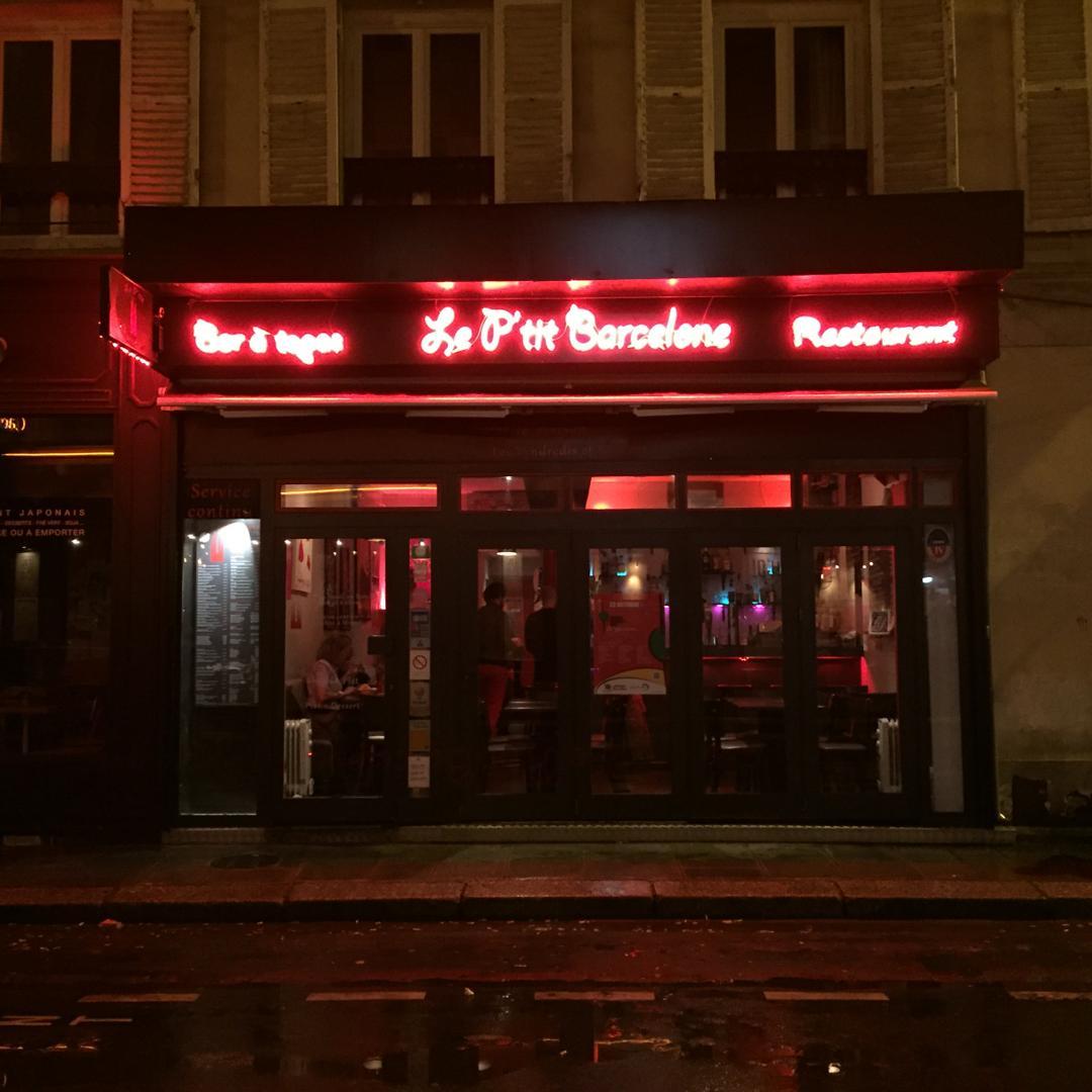 Foto del 5 de febrero de 2016 18:57, Le P'tit Barcelone, 10 Rue de la Boule Rouge, 75009 Paris, Francia