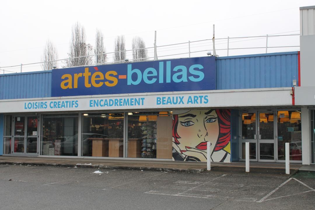 Foto del 5 de febrero de 2016 18:55, Artes bellas, 13 Rue du Champ Roman, 38400 Saint-Martin-d'Hères, Francia