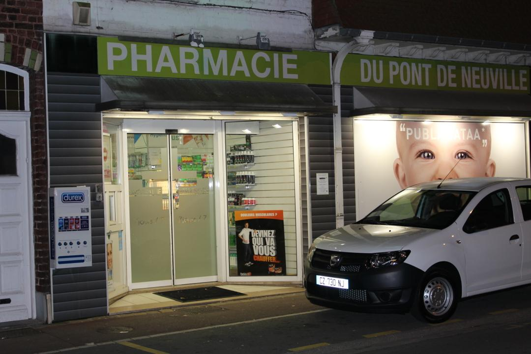 Photo of the February 5, 2016 6:55 PM, Pharmacie du Pont de Neuville, 613-615 Rue de Gand, 59200 Tourcoing, France