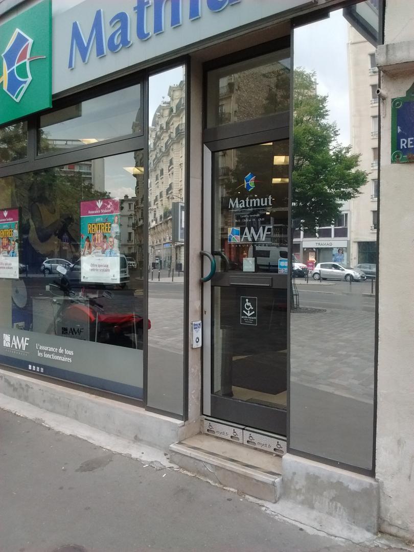 Foto del 5 de febrero de 2016 18:57, Matmut, 27 Cours de Vincennes, 75020 Paris, Francia
