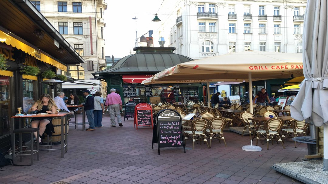 Photo of the October 20, 2016 4:32 PM, Naschmarkt, 1060 Vienne, Autriche