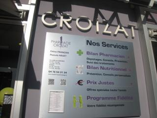 Foto del 5 de febrero de 2016 18:54, Pharmacie Croizat, 189 Avenue Ambroise Croizat, 38400 Saint-Martin-d'Hères, France