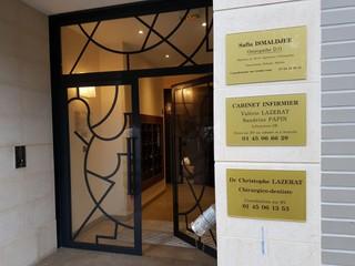 Foto del 19 de noviembre de 2017 16:05, Infirmière Lazerat, 73 Rue Pierre Curie, Nanterre, France