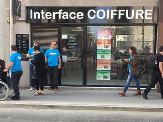 Photo du 7 septembre 2017 08:41, Interface Coiffure, 270 Cours Lafayette, 69003 Lyon, France