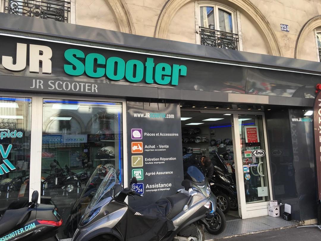 Foto del 21 de septiembre de 2017 9:53, JR SCOOTER, 224 Rue la Fayette, 75010 Paris, Francia