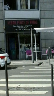 Photo of the May 2, 2018 12:46 PM, Kebab Place de Paris, 1 Place de Paris, 69009 Lyon, France