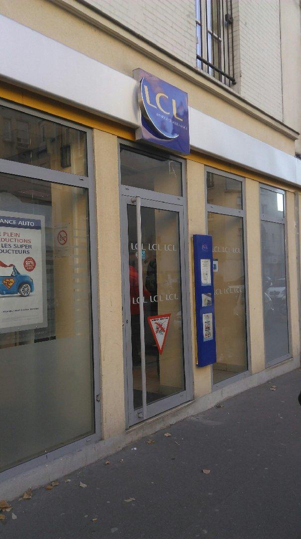 Bank - LCL , Les Lilas