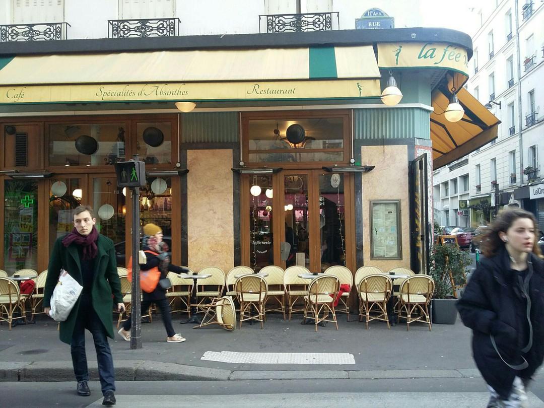Foto del 14 de enero de 2018 14:20, La Fée Verte, 108 Rue de la Roquette, 75011 Paris, France