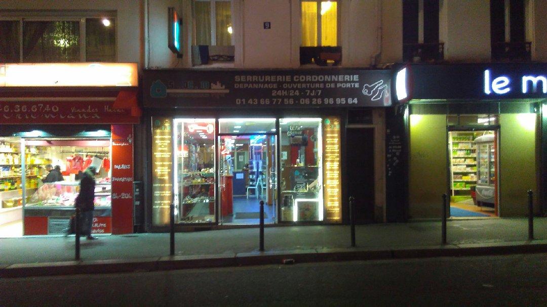 Foto del 23 de noviembre de 2016 16:54, La Grande Serrurerie, 9 Rue de Ménilmontant, 75020 Paris, France
