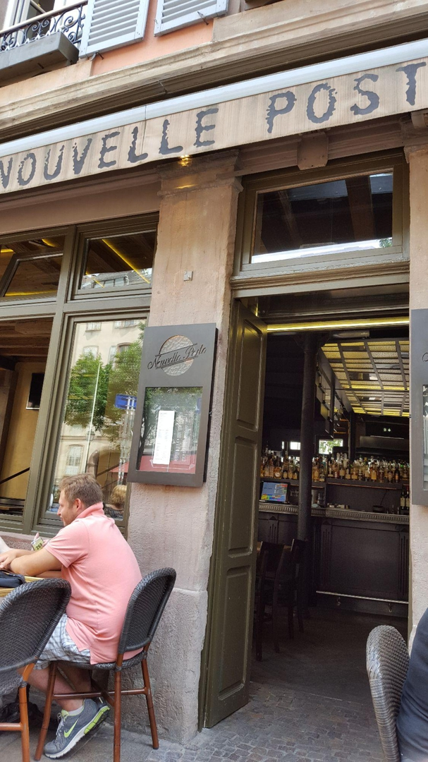 Foto del 22 de julio de 2017 12:44, La Nouvelle Poste, 12 Rue du Parchemin, 67000 Strasbourg, Francia