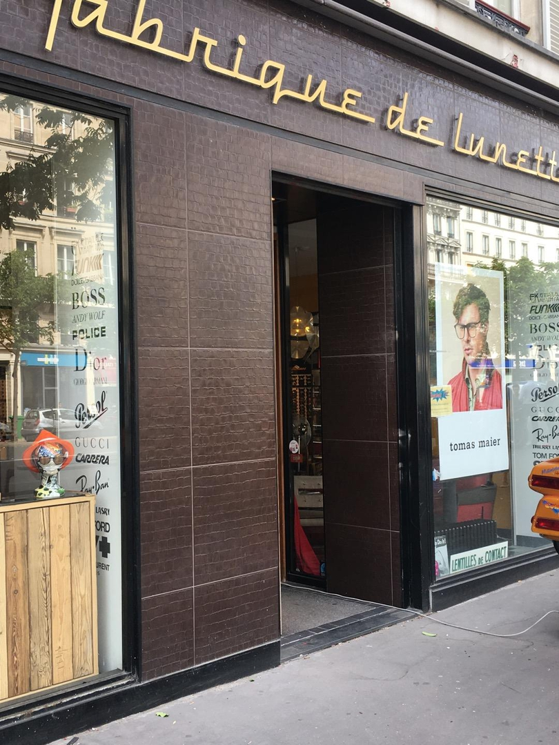 Photo du 22 juin 2017 14:25, La fabrique de lunettes, 11 Boulevard du Temple, 75003 Paris, France