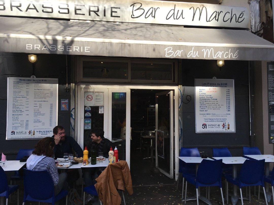 Foto del 26 de noviembre de 2016 14:05, Le Bar du Marché, 15 Place Notre Dame du Mont, 13006 Marseille, Francia