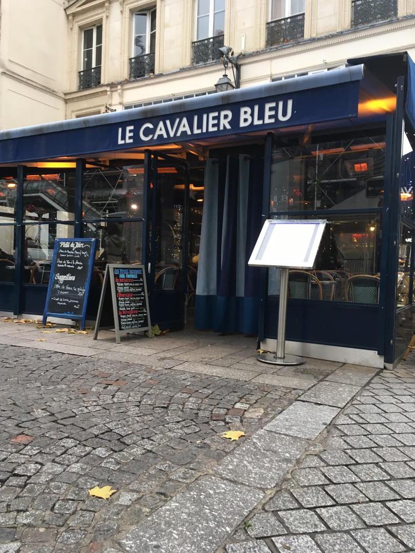 Foto del 7 de diciembre de 2017 10:03, Le Cavalier Bleu, 63 Rue Rambuteau, 75004 Paris, France