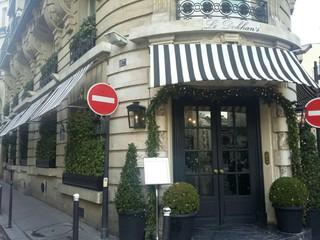 Foto del 31 de diciembre de 2017 12:29, Le Dokhan's Bar, 117 Rue Lauriston, 75116 Paris, France