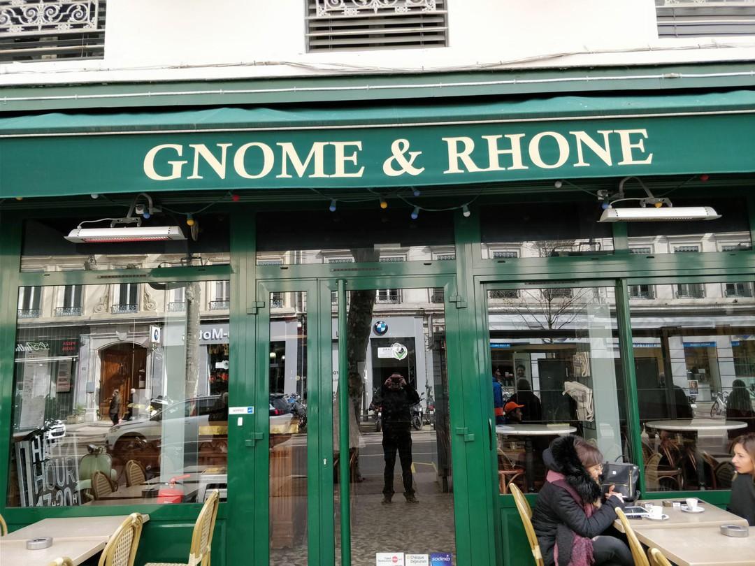Foto vom 23. März 2018 10:10, Le Gnome et Rhône, 157 Avenue Maréchal de Saxe, 69003 Lyon, Frankreich