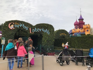 Photo of the March 3, 2017 3:08 PM, Le Labyrinthe d'Alice, Disneyland Paris, Boulevard du Parc, 77700 Serris, Frankreich