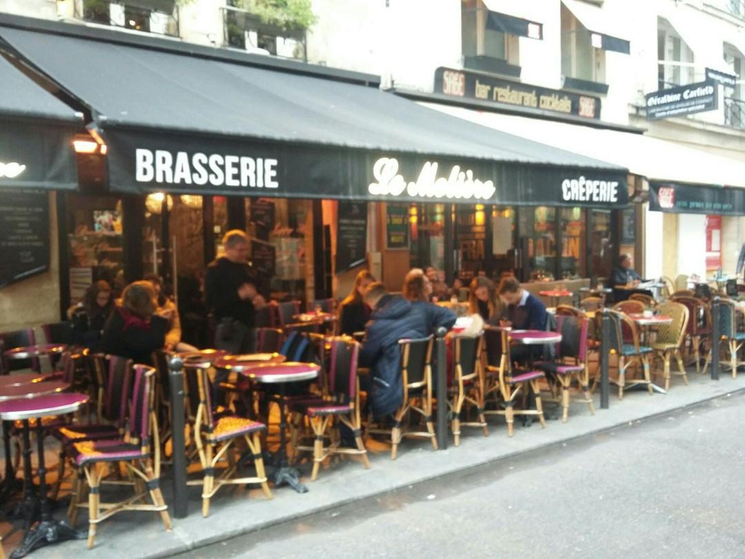 Foto vom 4. November 2017 09:56, Le Molière, 12 Rue de Buci, 75006 Paris, Frankreich