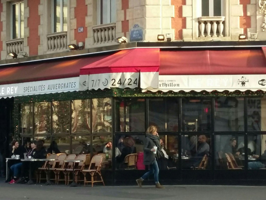 Photo of the January 14, 2018 2:25 PM, El Rey, 130 Rue de la Roquette, 75011 Paris, France