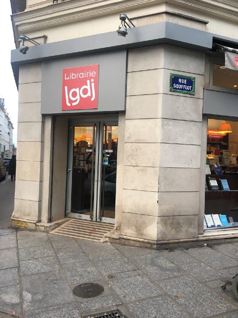 Foto del 24 de enero de 2017 15:49, Librairie LGDJ, 20 Rue Soufflot, 75005 Paris, Francia