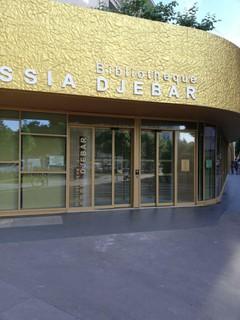 Foto del 8 de junio de 2018 6:35, Library Assia Djebar, 1 Rue Reynaldo Hahn, 75020 Paris-20E-Arrondissement, France