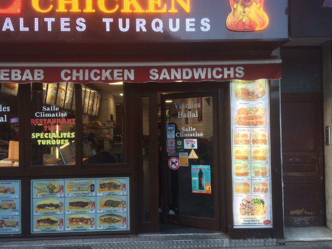 Photo of the December 3, 2016 2:44 PM, Lodoss Chicken, 75 Avenue de la Porte des Lilas, 93260 Paris, France