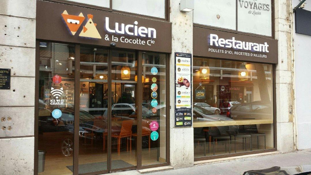 Photo du 28 février 2017 10:45, Lucien et La Cocotte Cie, 82 Cours Vitton, 69006 Lyon, France