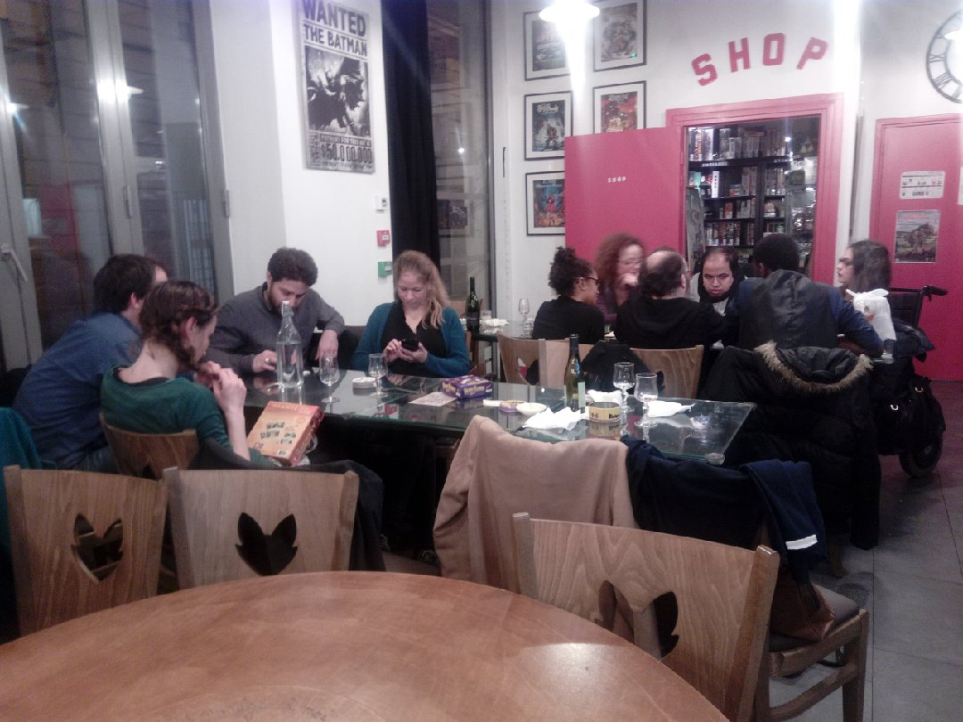 Foto del 15 de febrero de 2017 22:14, Meisia 2.0 - Boardgame Café, 84 Rue René Boulanger, 75010 Paris, Francia