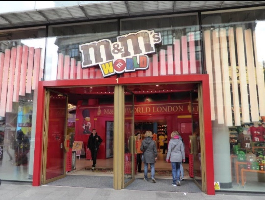 Foto del 2 de diciembre de 2016 9:41, M&M's World, Leicester Square, 1 Swiss Ct, London W1D 6AP, Reino Unido
