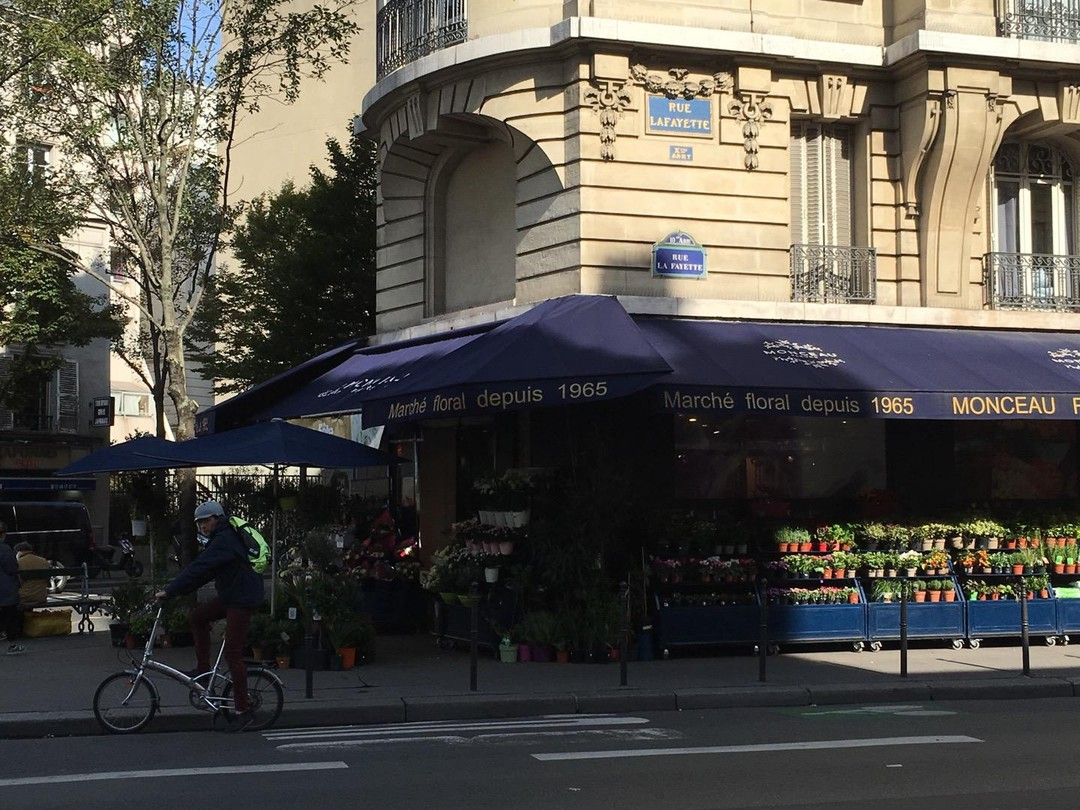 Photo of the September 21, 2017 9:56 AM, MONCEAU FLEURS, 225 Rue la Fayette, 75010 Paris, France