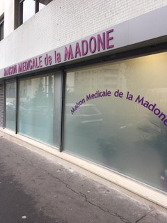 Foto del 10 de noviembre de 2017 13:59, Maison médicale de la Madone, 10 Rue de la Madone, 75018 Paris, France