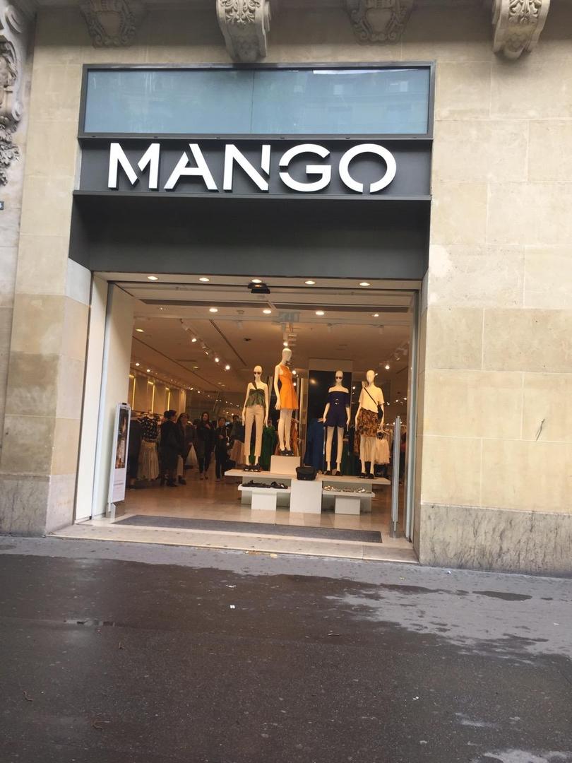 Foto vom 6. Juni 2017 13:11, Mango, 54 Boulevard Haussmann, 75009 Paris, Frankreich