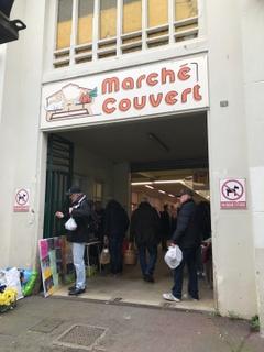 Foto vom 18. März 2017 12:42, Marche couvert, Rue Ernest Lefrant, 50400 Granville, France